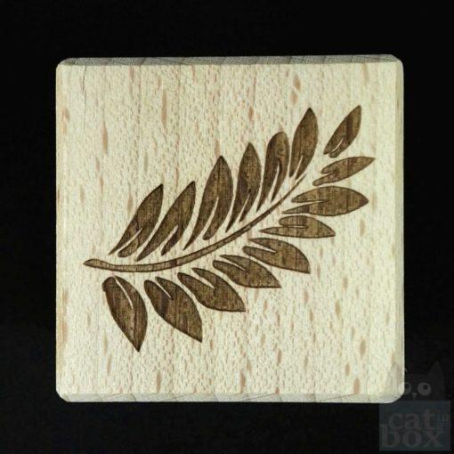 Holzwürfel Symbole positiv -Ranke rechst