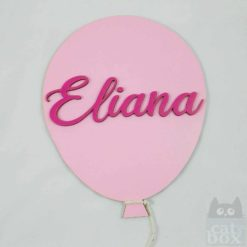 Türschild Ballooon - Eliana 1 - catinabox.de