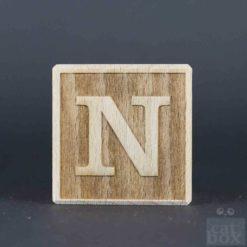Holzwürfel Buchstabe negativ catinabox - Bild1