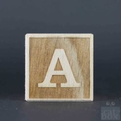 Holzwürfel Buchstabe negativ catinabox - Bild2