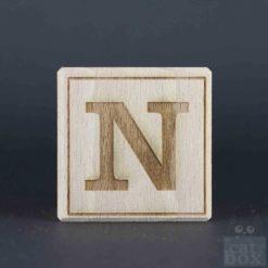 Holzwürfel Buchstabe positiv catinabox - Bild2
