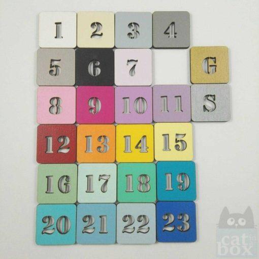 Farbpalette zur Auswahl catinabox