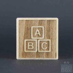Holzwürfel Symbole negativ - Bild2