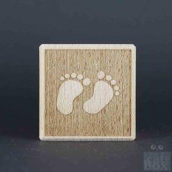 Holzwürfel Symbole negativ - Bild3