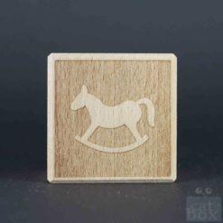 Holzwürfel Symbole negativ - Bild4