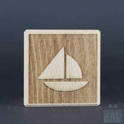 Holzwürfel Symbole negativ - Bild5