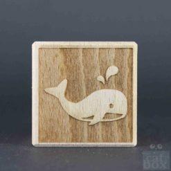 Holzwürfel Symbole negativ - Bild8