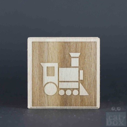 Holzwürfel Symbole negativ - Bild9