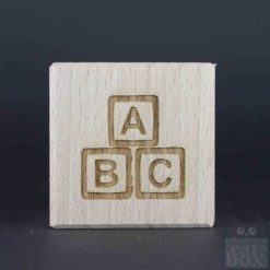 Holzwürfel Symbole positiv - Bild2