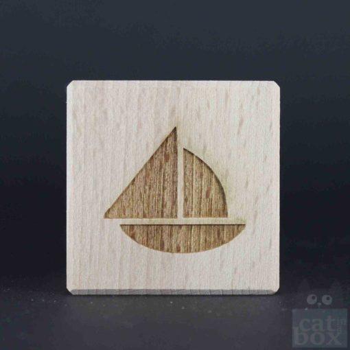 Holzwürfel Symbole positiv - Bild5