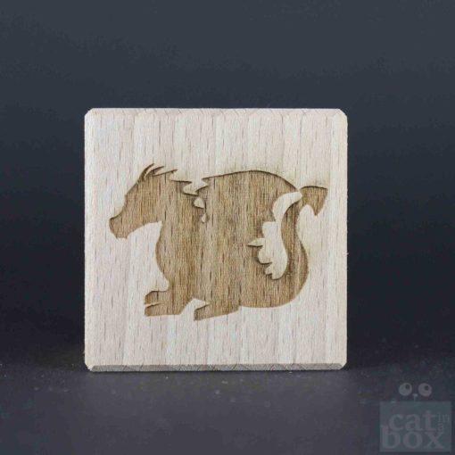 Holzwürfel Symbole positiv - Bild6