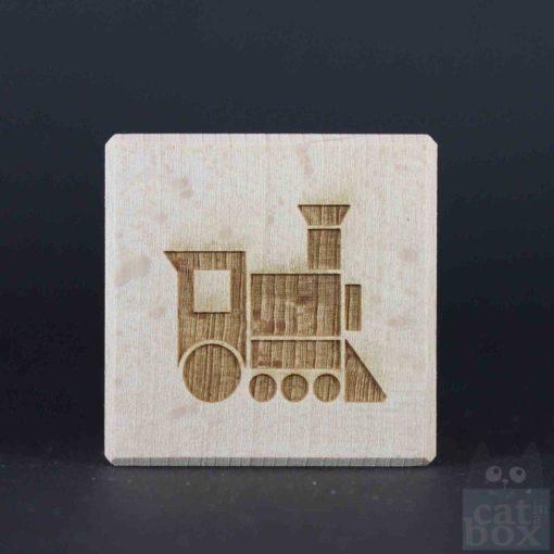 Holzwürfel Symbole positiv - Bild9