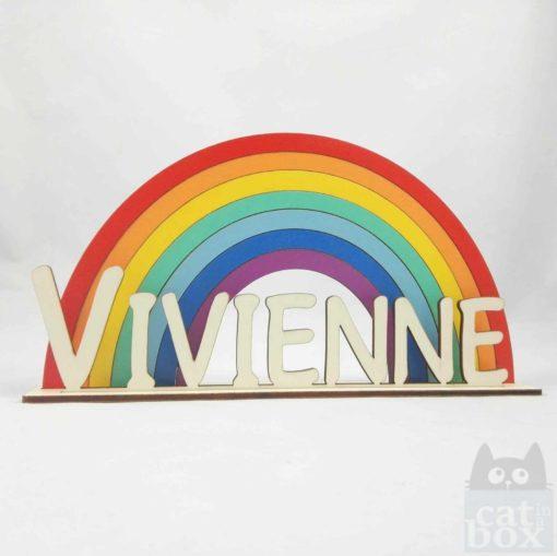Aufsteller Rainbow vorne 1 - catinabox.de
